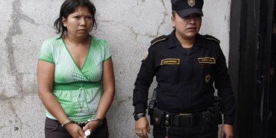 Ana Elisa Arana Argueta detenida en Escuintla. Foto:PNC