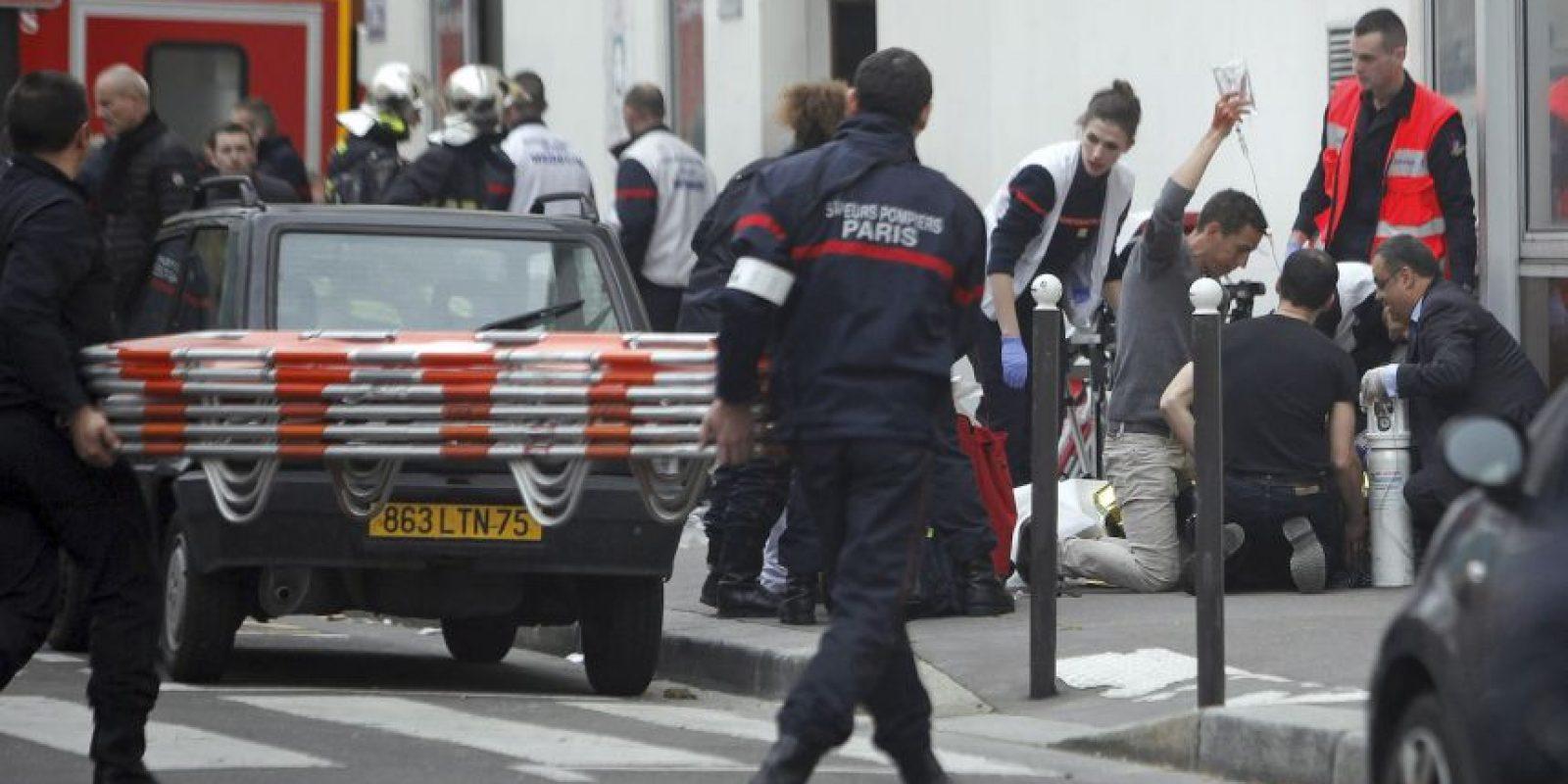 El atentado dejó 12 muertos. Foto:AP