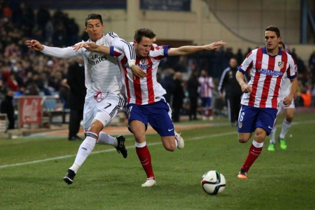 El Atlético buscará mantener su ventaja en el partido de vuelta que se jugará en el Santiago Bernabéu. Foto:AFP