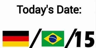 Recuerdan con la fecha de hoy la goleada de Alemania sobre Brasil