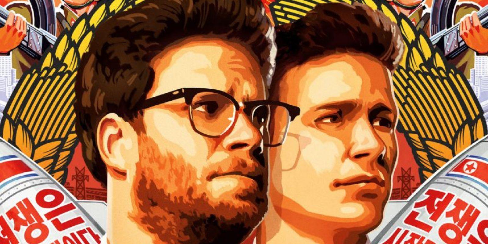 La controvertida película 'The Interview' ha recaudado más de 31 millones de dólares desde su lanzamiento en diciembre en las plataformas digitales Foto:Sony Pictures