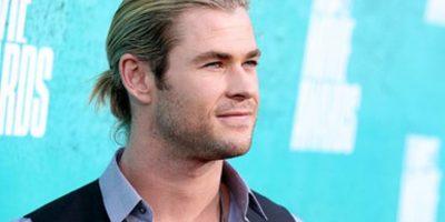 Por su papel de Thor y su actuación en Rush tuvo que dejarse el cabello largo. Foto:Getty Images
