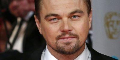 Leonardo DiCaprio es otro que no suele usar cabello largo. Foto:Getty Images