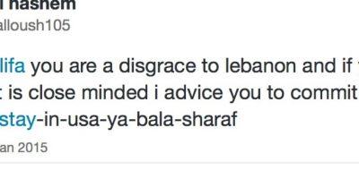 Algunos la acusan de pecadora y la ultrajan. Foto:Mia Khalifa/Twitter