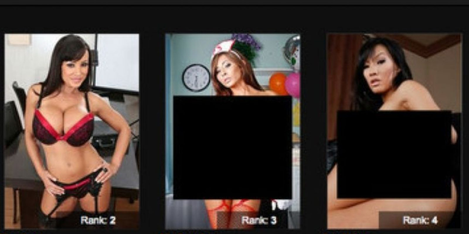 Tiene 21 años, es estudiante universitaria y la estrella más popular en el portal PornHub Foto:Porn Hub