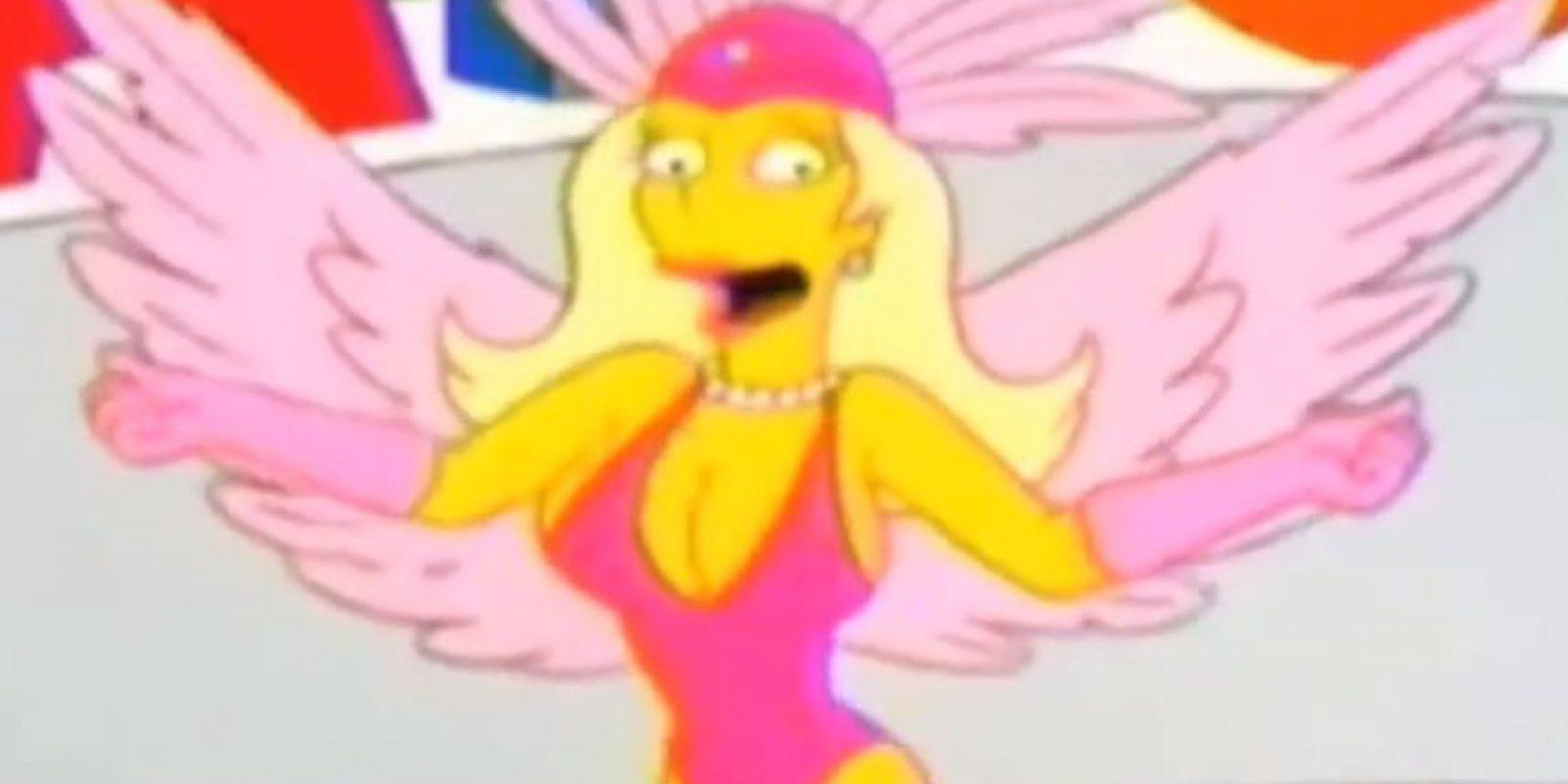 """En el episodio de 2002 de """"Los Simpsons"""" llamado """"La Culpa es de Lisa"""", ellos viajan a Brasil. Allí se reforzaron todos los estereotipos del país. Los que más causaron indignación en el país sudamericano fueron los referentes al programa que ve Bart, """"Telemelones"""", donde aparece una mujer muy parecida a la estrella Xuxa meneando sus senos en un programa infantil. Foto:Fox"""