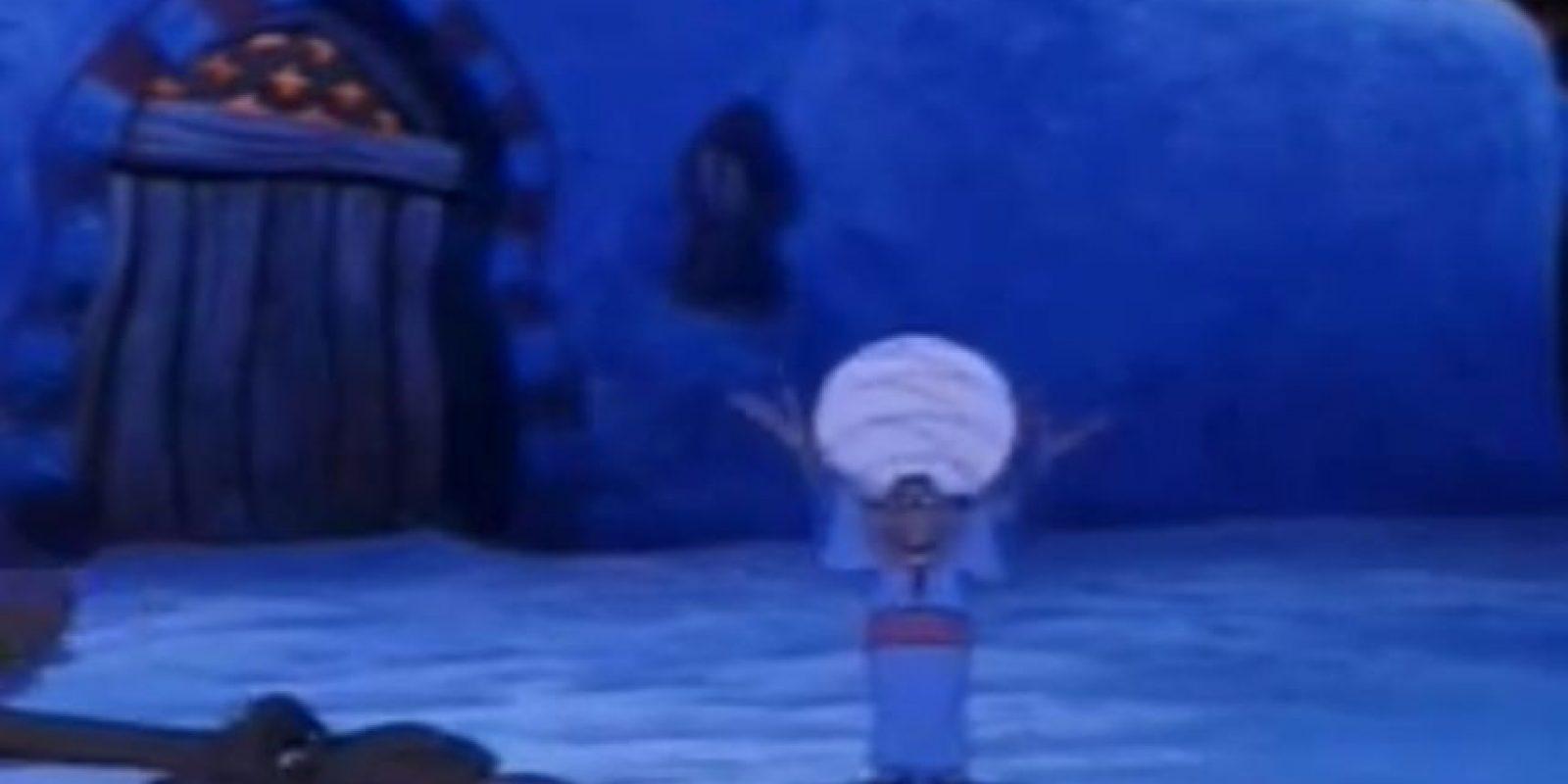 """En la película """"Aladdin"""" de 1992, en la canción """"Bienvenidos a Agrabah"""" se refuerza el estereotipo racista hacia los musulmanes. Foto:Disney"""
