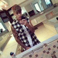 Comenzó con los tatuajes Foto:Instagram/Justin Bieber