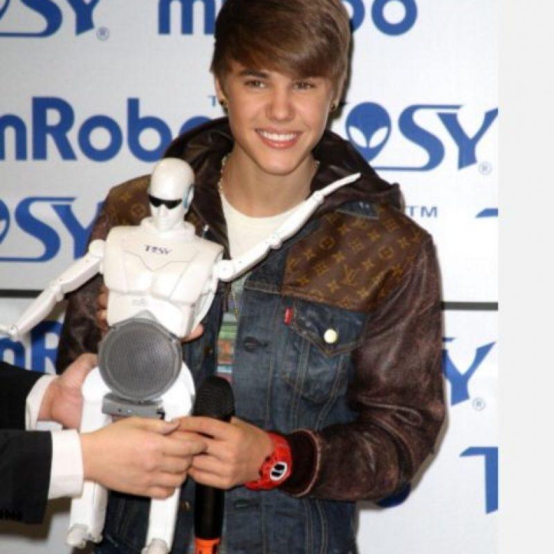"""En 2011, seguía siendo """"adorable"""". Promocionaba su álbum """"Under the Mistletoe"""" Foto:Getty Images"""
