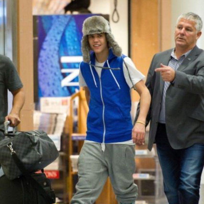 """Todavía no adoptaba su pose """"Swag"""" Foto:Getty Images"""