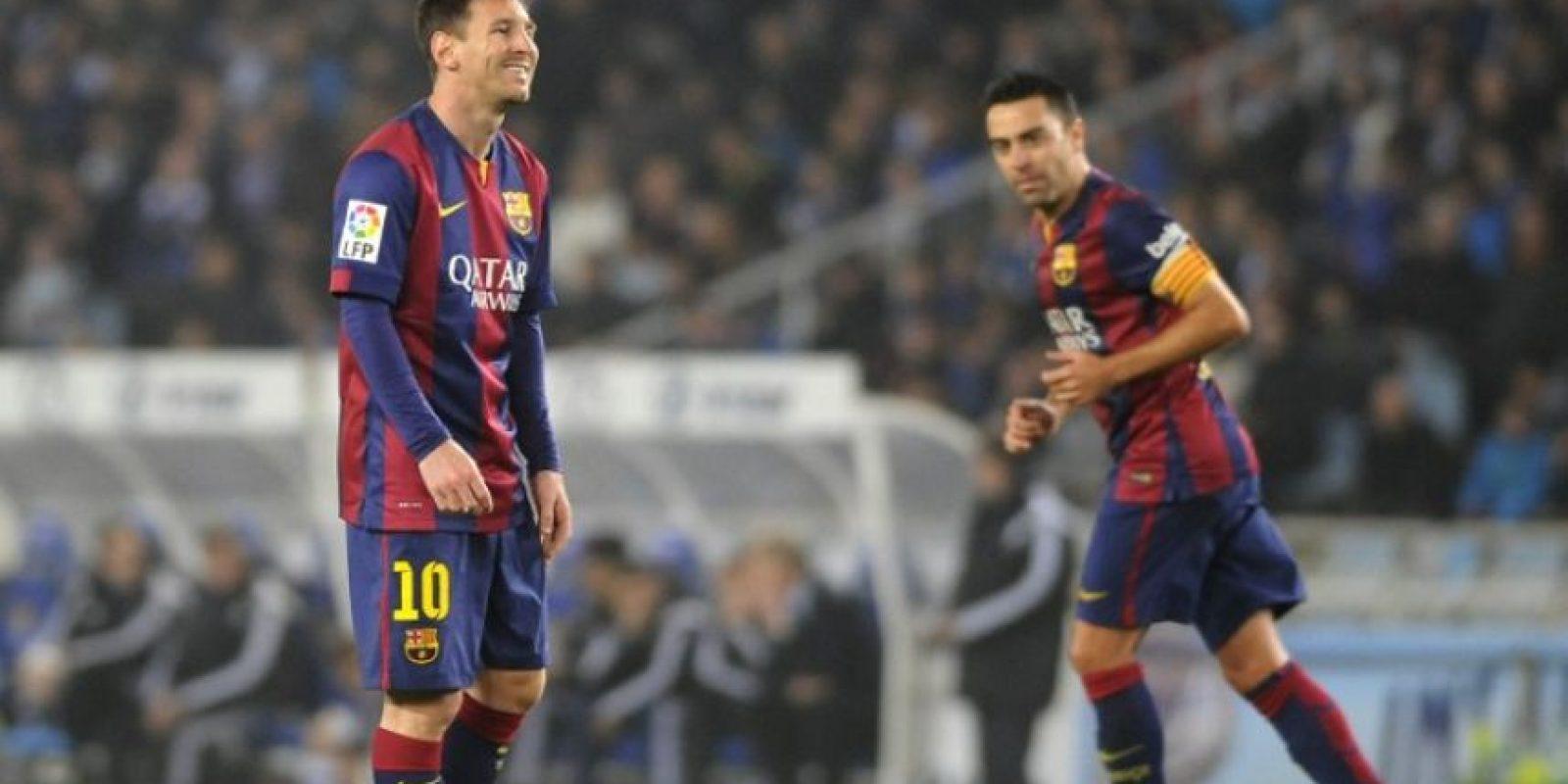 """Luis Enrique sentó al argentino en el partido del fin de semana pasado, lo que molestó a la """"Pulga"""" Foto:Getty"""