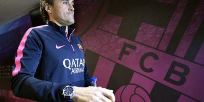 Pero un supuesto pleito entre el DT Luis Enrique y Lionel Messi complica la situación Foto:Getty