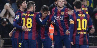 El Barcelona golea al Elche y le pone un freno a la mala racha