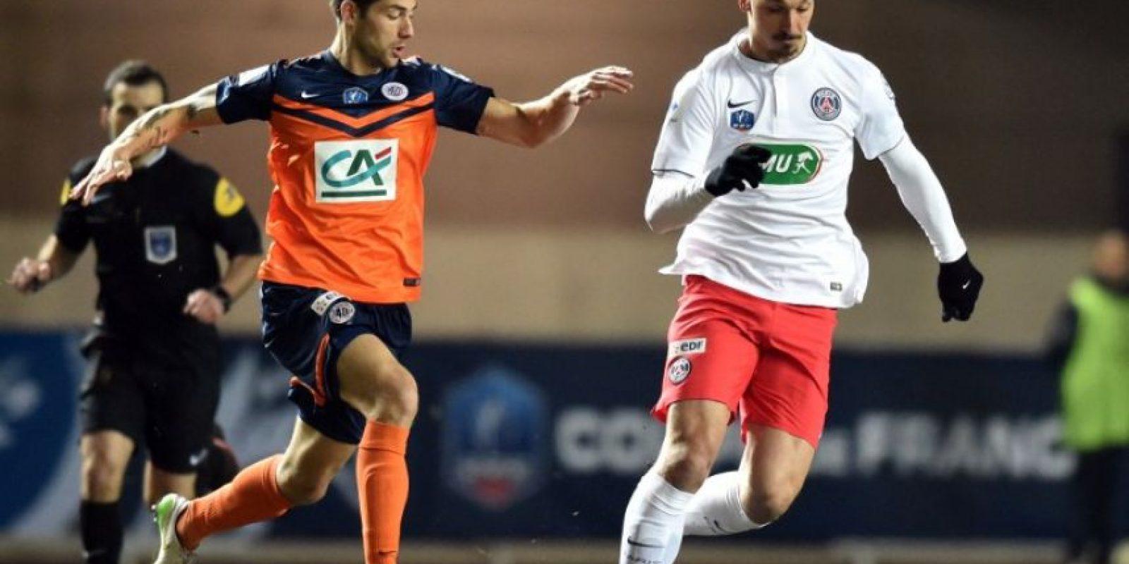 Se trata de Zlatan Ibrahimovic Foto:AFP