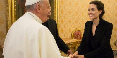FOTOS. Angelina Jolie invita al Papa a ver su nueva película