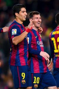 Messi se molestó porque no fue titular en el partido del fin de semana Foto:Getty