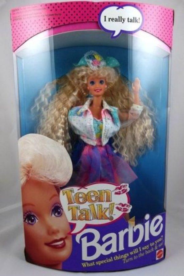 Barbie conversadora Foto:Mattel