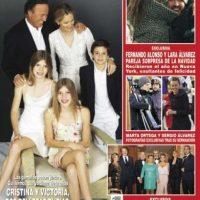 La noticia apareció en la portada de la revista ¡Hola! Foto:¡Hola!