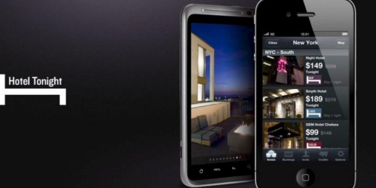 La app para reservar habitaciones de hotel de último minuto a bajo precio
