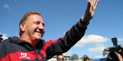 Así fue la presentación de Enzo Trossero en el estadio El Trébol