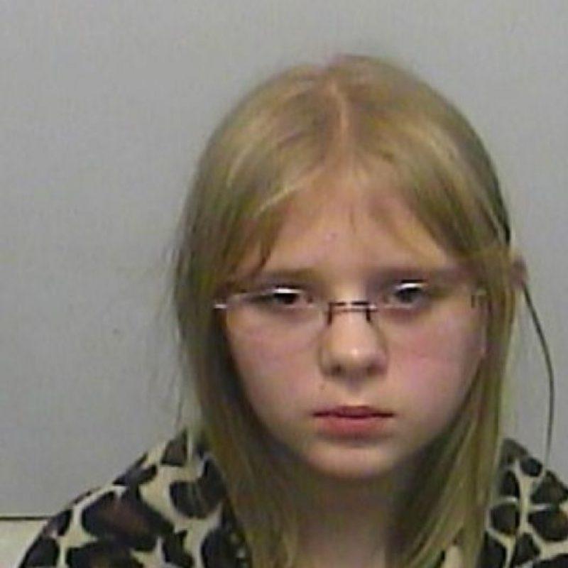 Ella es Renee Kornegay, de 11 años. Está sindicada con su hermana de asesinar a su hermano Damien a tiros. Foto:Policía de Columbia County