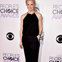 Monica Potter, también de negro. Foto: Getty Images