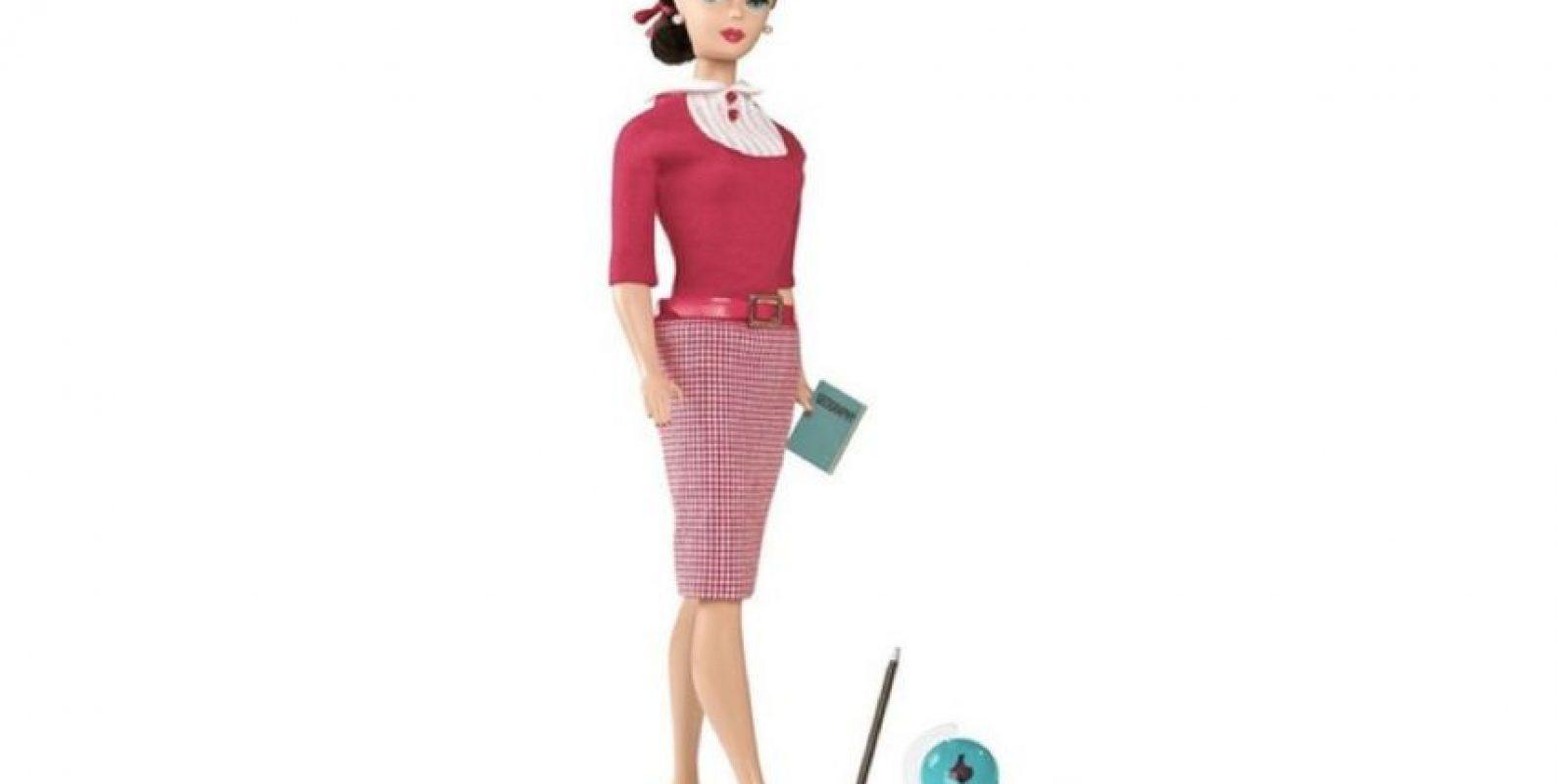 Barbie maestra. Foto:Mattel