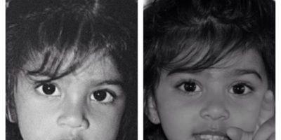 Mi hija y yo a los dos años Foto:Pinterest