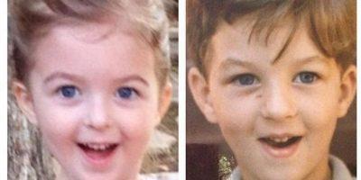 Mi marido con cinco y mi hija a los cuatro, ¡parecen gemelos! Foto:Pinterest