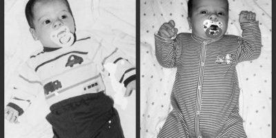 Jason y nuestro hijo, Wesley Foto:Pinterest