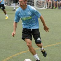 Steve ha mostrado sus dotes como futbolista en varias ocasiones. Foto:Getty Images