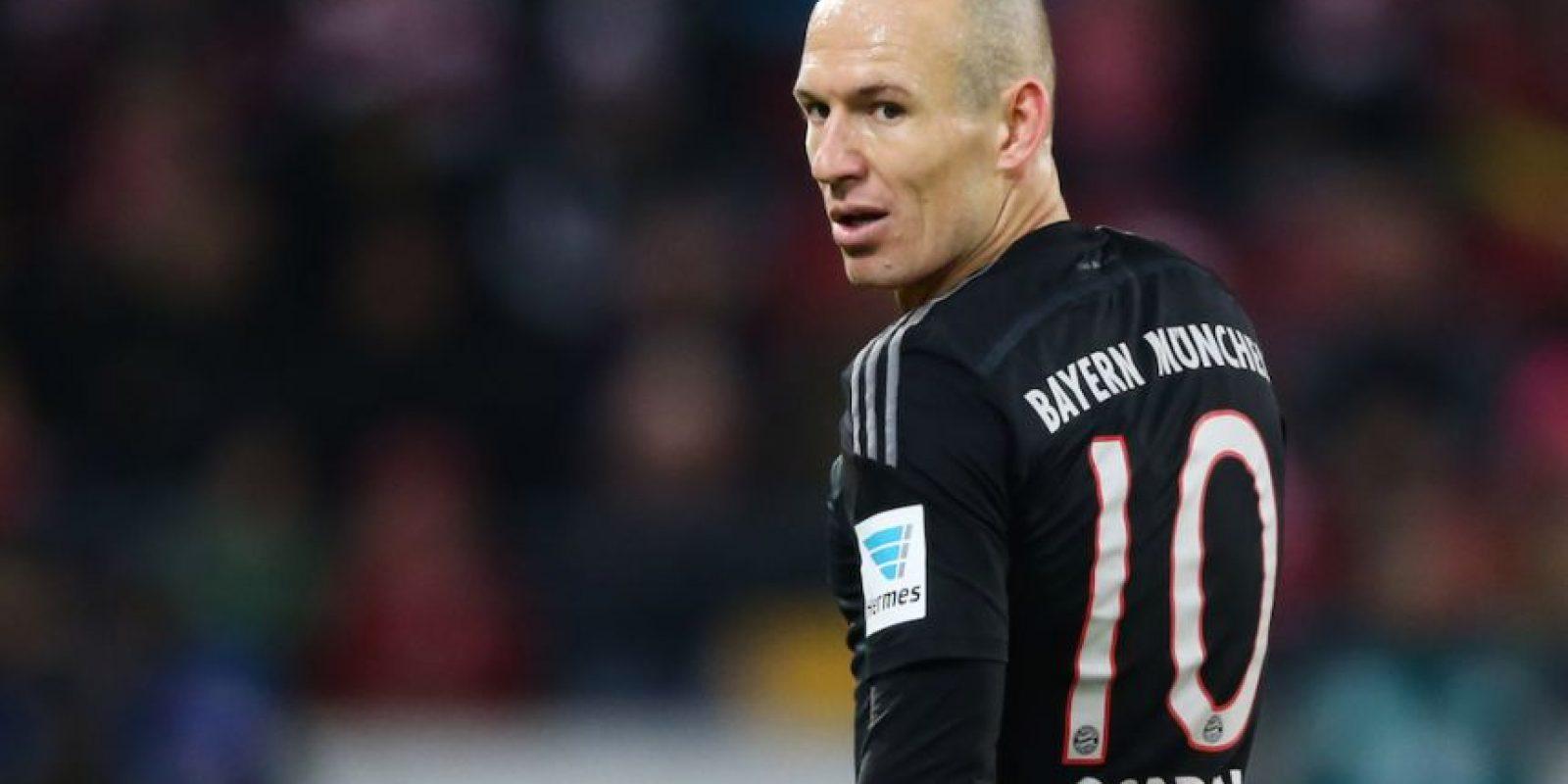 Arjen Robben – Bayern Múnich (Holanda) Foto:Getty Images