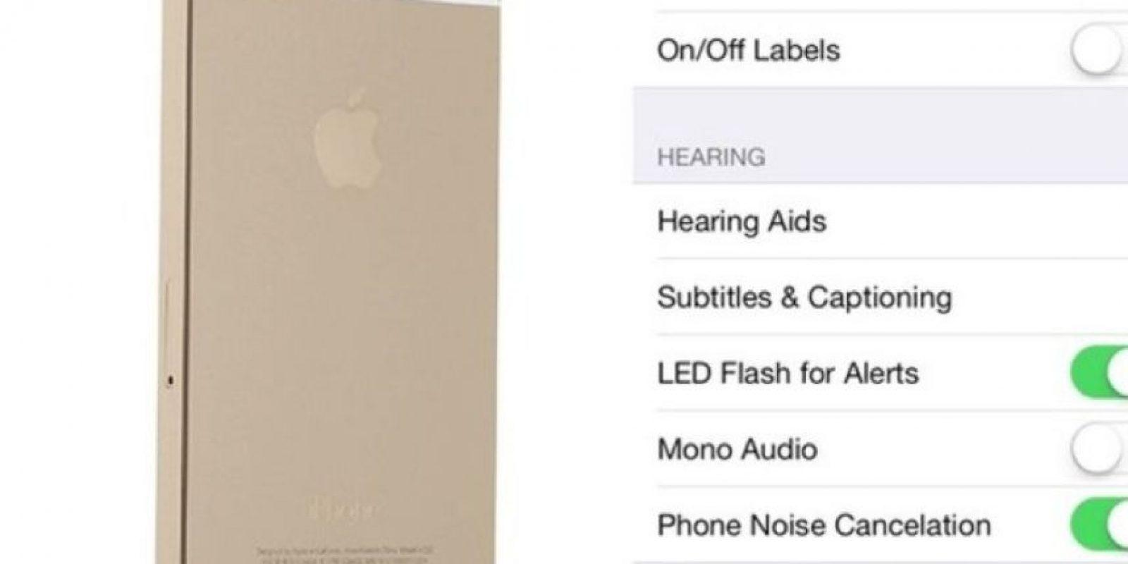 Luz parpadeante para alertas. El iPhone puede emitir una luz LED cuando reciban una llamada o mensaje activándola en Ajustes -> General -> Accesibilidad -> Habilitar Flash LED para alertas. Foto:vía blog.laptopmag.com
