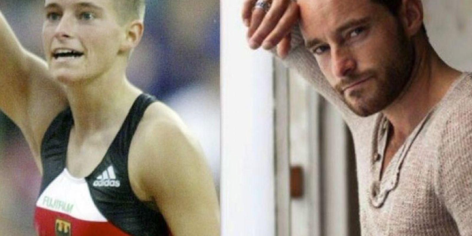 Yvonne Buschbaum de 34 años era garrochista y participó en los juegos Sydney 2000 en salto con garrocha, obteniendo el sexto lugar. Foto:Getty Images