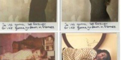 """Quiso recrear en su página de Tumblr las famosas Polaroids de su video """"1989"""" Foto:Tumblr"""