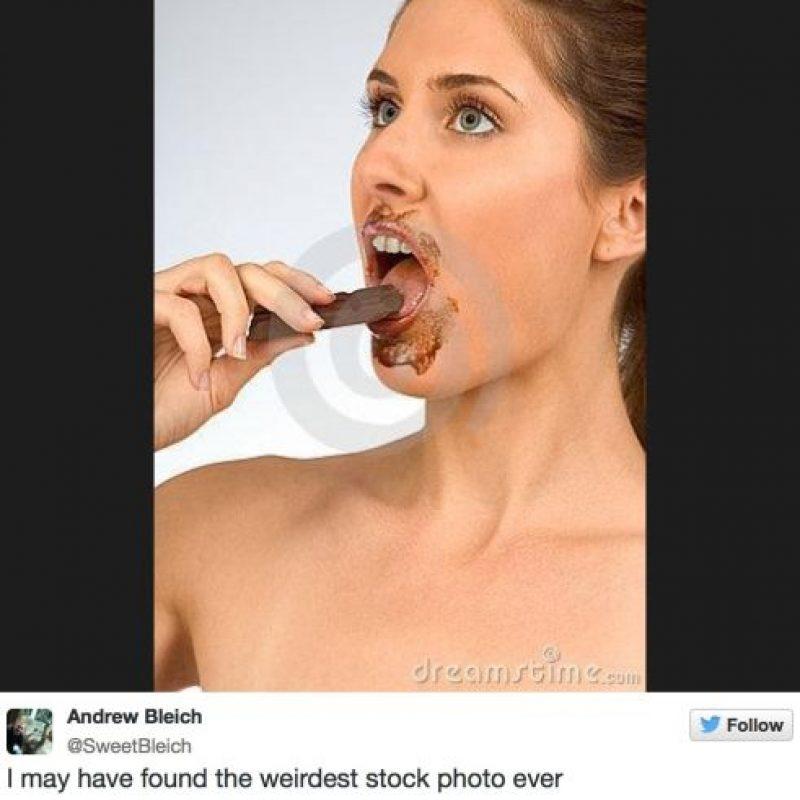 Chocolate sexual Foto:Facebook
