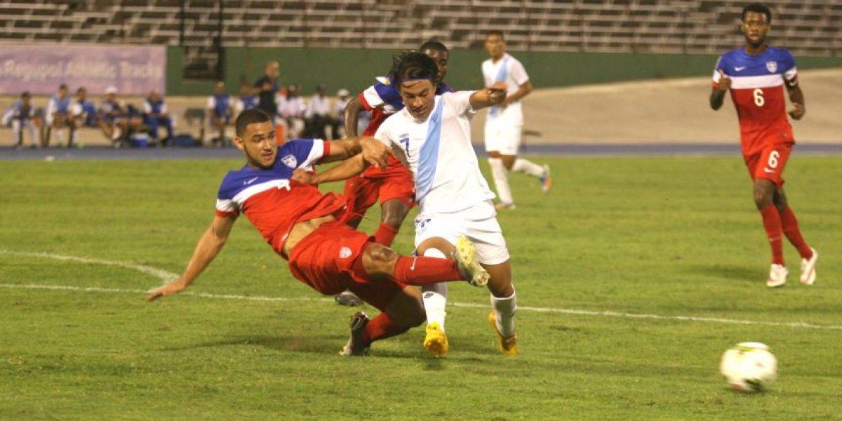 Guatemala rescata el empate contra EE. UU. en el Premundial Sub-20