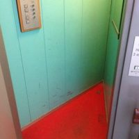 Este ascensor (claustrofobia mode on) Foto:Reddit