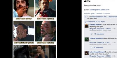 Nadie mejor que él para burlarse de sí mismo Foto:Facebook/Robert Downey Jr.
