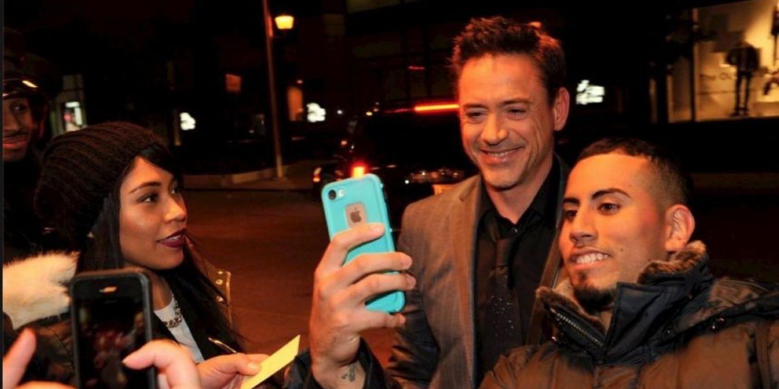 Y con sus fans más grandes Foto:Facebook/Robert Downey Jr.