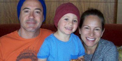 También es un gran hombre de familia Foto:Facebook/Robert Downey Jr.