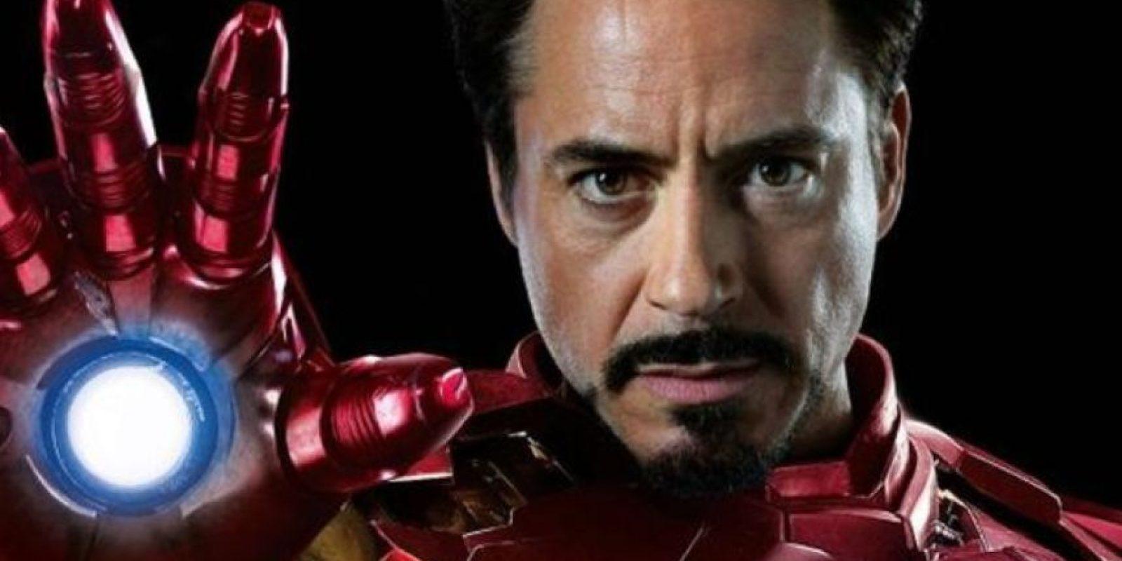 ¡Él es Iron Man! Foto:Marvel
