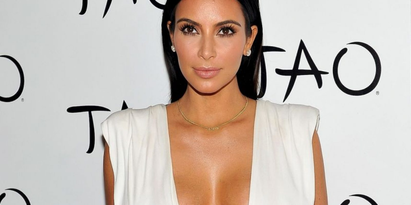 Con cirugías. Kim Kardashian. Foto:Getty Images