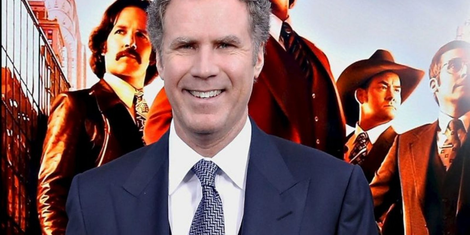 Alguien que hace reír mucho: Will Ferrell. Foto:Getty Images