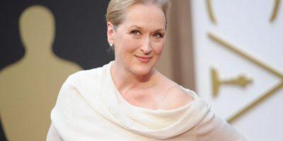 En serio. Meryl Streep siempre lo ha sido. Foto:Getty Images