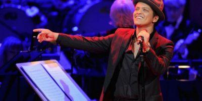 Es Bruno Mars. Foto:Getty Images