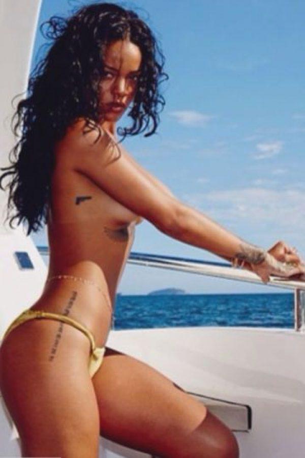 Las fotos más escandalosas de Rihanna en Instagram Foto:Rihanna/Instagram