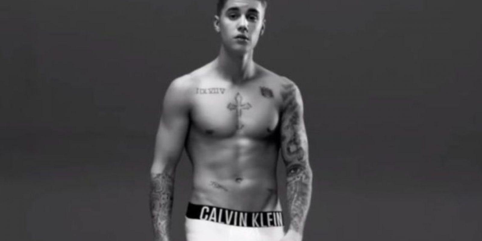 Ahora, las de Justin. Foto:Calvin Klein