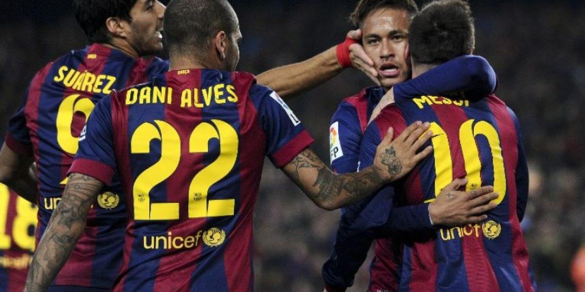 El Barcelona se llena de confianza con un triunfo 3-1 sobre el Atlético