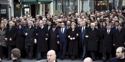 FOTOS: Millones marchan en contra de atentados terroristas en Francia